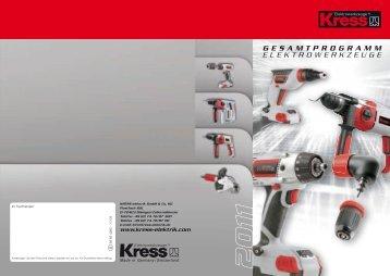 Kress-Hochleistungs- Winkelschleifer bis 2600 Watt