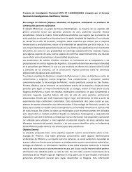 Proyecto de Investigación Plurianual (PIP) Nº 11220100100261 ...