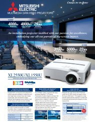 XL1550/XL2550U Classroom Projector - AVsuperstore.com