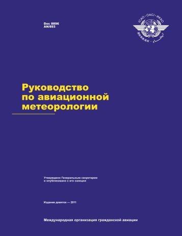 Руководство по авиационной метеорологии