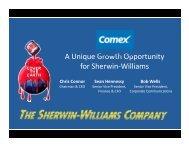 Presentation - Sherwin-Williams