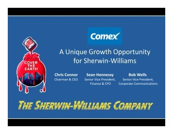 Presentation - Sherwin-Williams