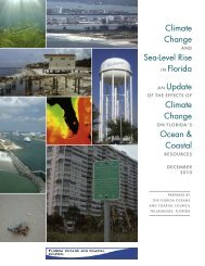 Florida Report on Climate Change and SLR