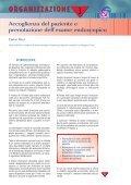 Accoglienza del paziente e prenotazionedell'esame endoscopico - Page 5