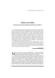 Segue artigo de Antonio Veronese publicado dia 30 de - Lusotopie
