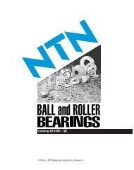 Catalog #A1000 - NTN Bearings