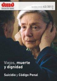 DMD 62/2013 - Asociación Derecho a Morir Dignamente