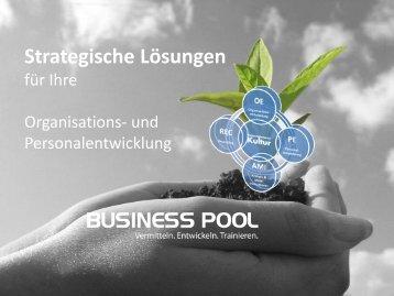 Business Pool erfolgt durch das System