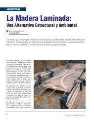 La madera laminada: Una alternativa estructural y ambiental
