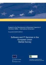 Software and IT Services in the European Union ... - ITOnews.eu