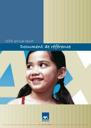 Annual report - Reference document - AXA.com