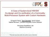 Slides - Stanford PPL - Stanford University