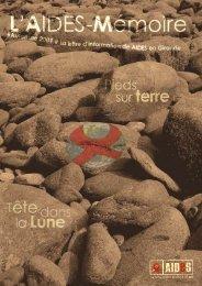 L'Aide-Mémoire Automne 2009