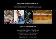 Sporthallenneubauten - Dörner & Partner