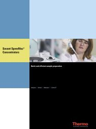 Savant SpeedVac® Concentrators