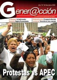 Año 7 N° 81 Noviembre 2008 La Parihuela:Un ... - Generaccion.com