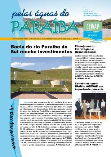 Informativo Pelas Águas do Paraíba - Ano 9 - Edição nº 19 - Ceivap