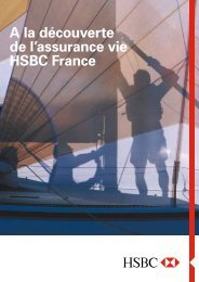 Téléchargez la brochure complète sur l'assurance-vie. - HSBC