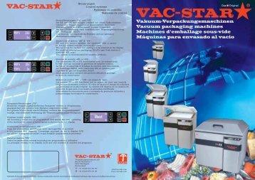 Vakuum-Verpackungsmaschinen Vacuum ... - G. Schweizer SA