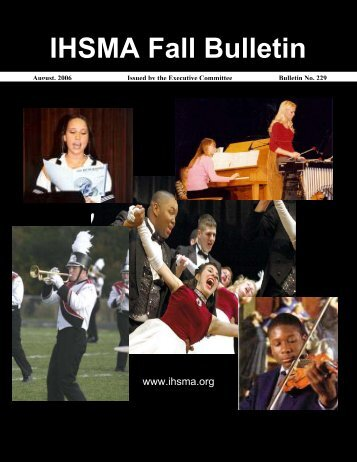 Fall Bulletin No. 229 - August 2006 - Iowa High School Music ...
