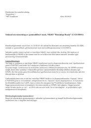 """Søknad om omsetning av genmodifisert mais, NK603 """"Roundup ..."""