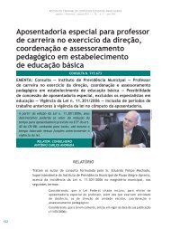Aposentadoria especial para professor de carreira ... - Revista do TCE
