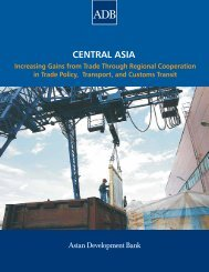Central Asia: Increasing Gains from Trade ... - Khazar University