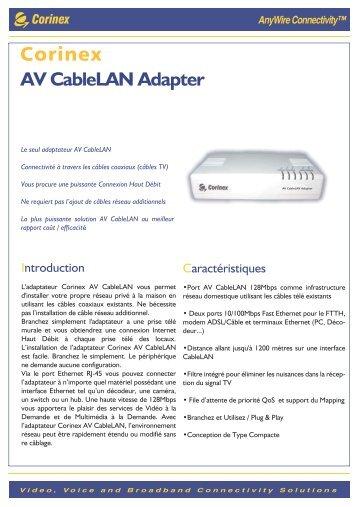 AV CableLAN Adapter