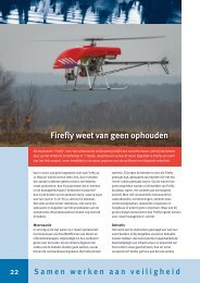 Firefly weet van geen ophouden - Brandweer Nederland