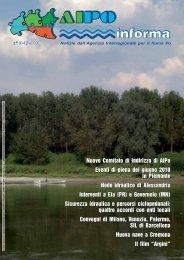 Aipo Informa 2010 (3-4) - Agenzia Interregionale per il fiume Po