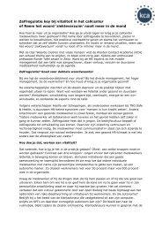 Zelfregulatie key bij vitaliteit in het callcenter - Callcenter Makelaar