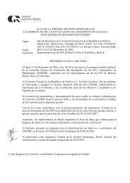 Acta Primera Reunión de CEDEIR - olacefs