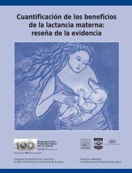 Cuantificación de los beneficios de la lactancia materna: reseña de ...