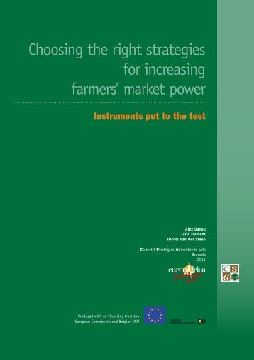 Choosing the right strategies for increasing farmers' market ... - CSA