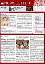 newsletter - Medizinische Fakultät Mannheim - Universität Heidelberg