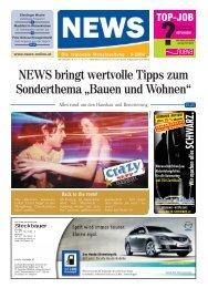 NEWS bringt wertvolle Tipps zum Sonderthema ... - NEWS-ONLINE.at