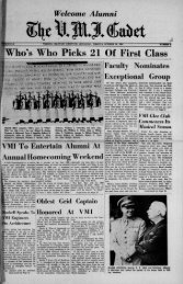 The Cadet. VMI Newspaper. October 26, 1962 - New Page 1 [www2 ...