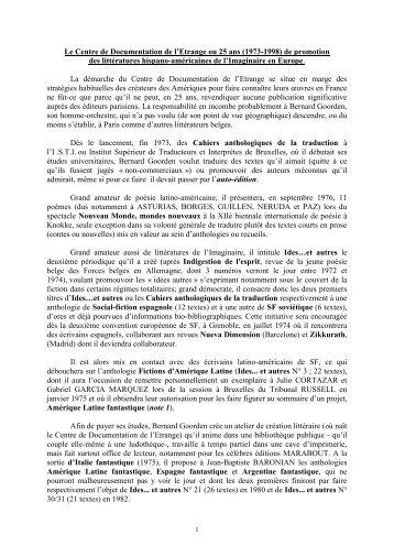 20010331 CONFERENCE BG METZ - IDES et Autres