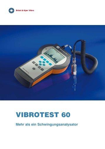 Broschüre VIBROTEST 60 - Brüel & Kjaer Vibro