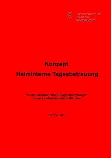 Konzept Heiminterne Tagesbetreuung für die ... - IPP München