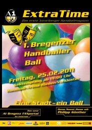 Extra Time 01 11 - Bregenz Handball