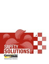 Download full printable catalogue - Commercial Solutions Inc