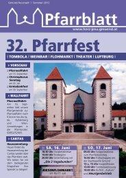:: SA, 16. Juni :: SO, 17. Juni - Herz Jesu Pfarre Gmünd Neustadt