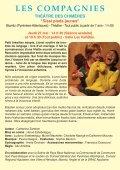 Texte de : Dominique Paquet - Avec : Julien Bouanich - Théâtre des ... - Page 5