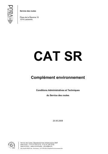 CAT SR Complément environnement - Telechargement.vd.ch