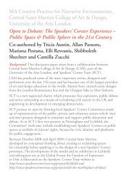 Public Space & Public Sphere - Speakers Corner Trust
