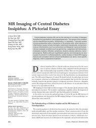 MR Imaging Of Central Diabetes Insipidus - KoreaMed Synapse