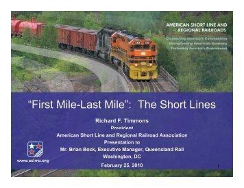Queensland_Rail_Feb_25_2010.ppt - American Short Line ...