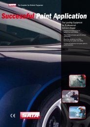 Brochure - professional collision repair - Wagner