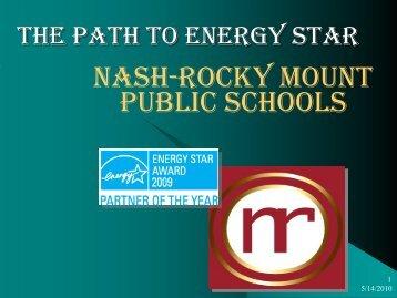 Greening Existing Schools - NC Project Green